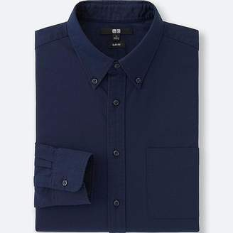 Uniqlo Men's Oxford Slim-fit Long-sleeve Shirt