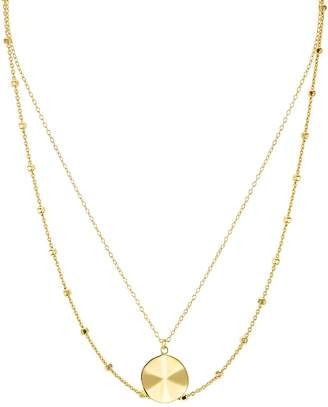 Argentovivo Medallion Two Strand Necklace, 15""