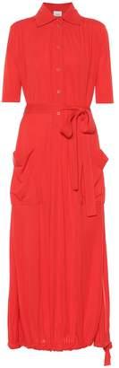 Burberry Crepe shirt dress