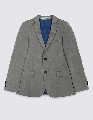Marks and Spencer 2 Button Textured Jacket (3-16 Years)