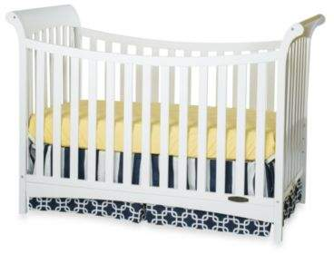 Child Craft Child CraftTM Coventry Traditional 3-in-1 Convertible Sleigh Crib in White