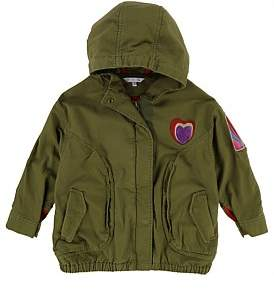 Little Marc Jacobs Pre Spring Parka(6-10 Years)