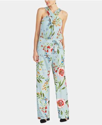 Rachel Roy Scarlett Floral-Print Halter Top