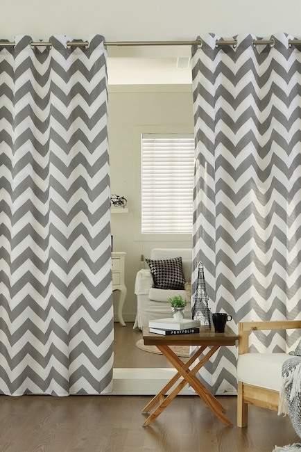 Curtains Ideas chevron curtains grey : Gray Chevron Curtains - ShopStyle Australia