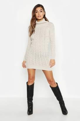 ebbc72ee542 boohoo White Knit Dresses - ShopStyle