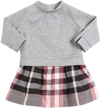 Burberry Cotton Sweatshirt & Check Dress