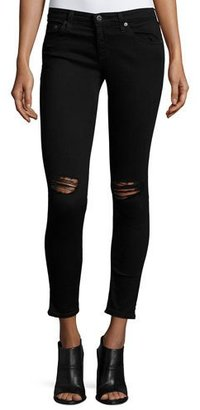 AG The Legging Ankle 1 Year Black Pond Jeans $225 thestylecure.com