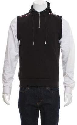 Christian Dior Sleeveless Hooded Sweatshirt