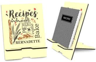 Monogram Online Personalized Recipe Book Stand or iPad Stand
