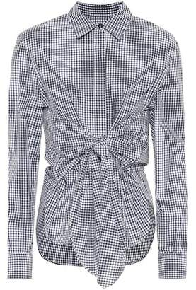 Rag & Bone Wendy gingham cotton blouse
