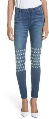 BROCKENBOW Emma Rush Distressed Skinny Jeans