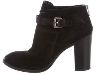 CNC Costume National Buckle-Accented Ankle Boots