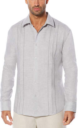 Cubavera 100% Linen Long Sleeve Shirt