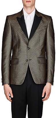 Givenchy Men's Jacquard Tuxedo Jacket - Gold