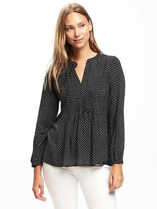 Pintuck Swing Blouse for Women $29.94 thestylecure.com