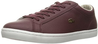 Lacoste Women's Straightset 316 3 Caw Burg Fashion Sneaker $86.80 thestylecure.com