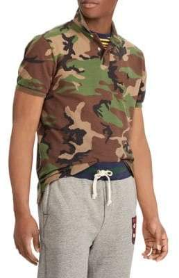 Polo Ralph Lauren Custom Slim-Fit Camo Polo Shirt