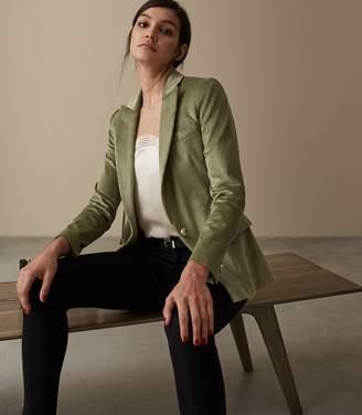 Reiss Carie Jacket Corduroy Tailored Blazer
