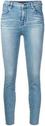 J Brand raw Alana jeans