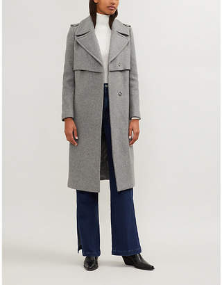 Claudie Pierlot Grazie wool-blend coat