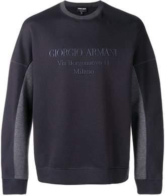 Giorgio Armani round neck jumper