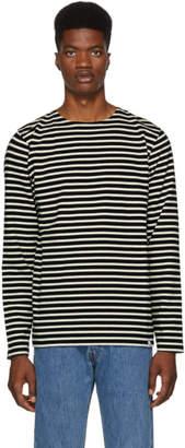 Norse Projects Navy Gotfred Stripe Classic Sweatshirt
