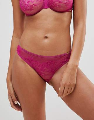 Gossard Glossies Lace Brief