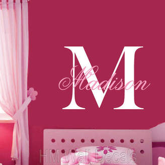 H&M Wall Decal Personalised Name - Removable Wall Sticker