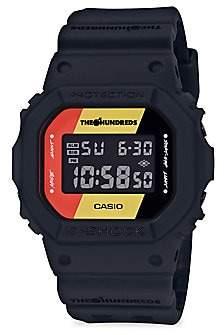 G-Shock Black Resin Digital Watch
