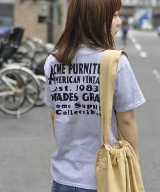 ACME Furniture (アクメ ファーニチャー) - ACME Furniture 《追加》【NUTS ART WORKS】 WALL SIGN T-SHIRTS バックプリントTシャツ XSサイズ
