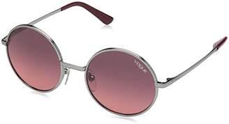 Vogue Women's Metal Woman Cateye Sunglasses