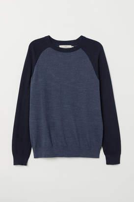 H&M Color-block Sweater