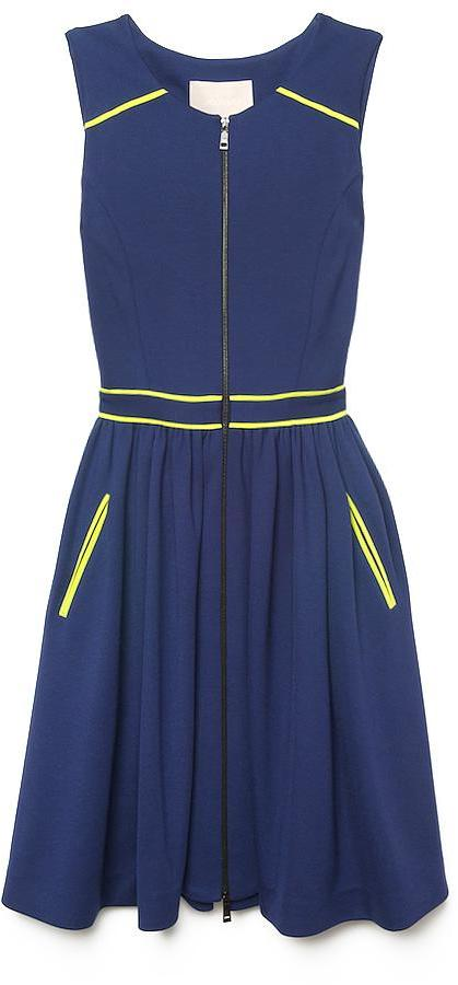 Jason Wu Contrast-Trim Sleeveless Dress