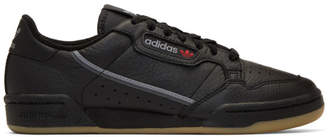 adidas Black Continental 80 Sneakers