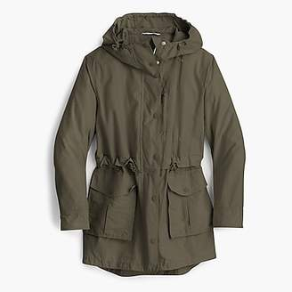J.Crew Petite perfect rain jacket