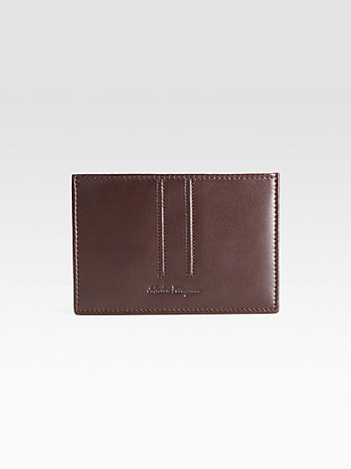 Salvatore Ferragamo Nomad Credit Card Case