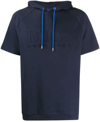 HUGO BOSS short sleeved hoodie