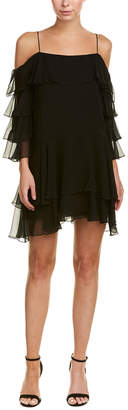 Alice + Olivia Lexis Silk Shift Dress