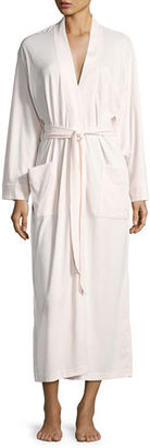 P Jamas Butterknit Long Wrap Robe $150 thestylecure.com
