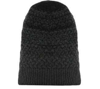 Drumohr Grey Wool Hat