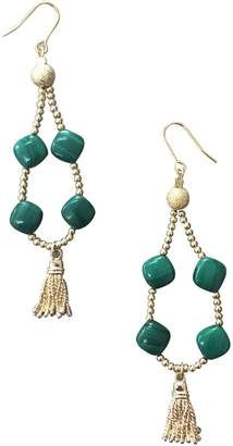 Farra - Malachite Teardrop Earrings