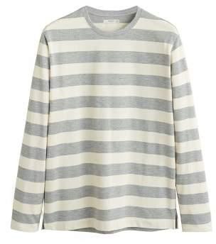 Mango Man MANGO MAN Striped long sleeves t-shirt