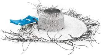 Jacquemus destroyed sun hat