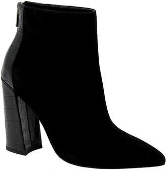 Charles by Charles David Charles David Leather Block Heel Booties - Micro