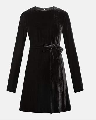 Theory Short Slit Sleeve Sheath Dress