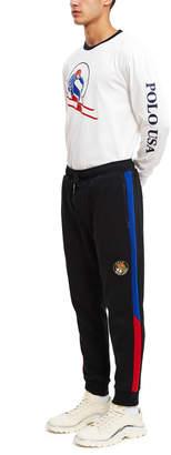 Ralph Lauren Polo By Double-Knit Jogger Sweatpants