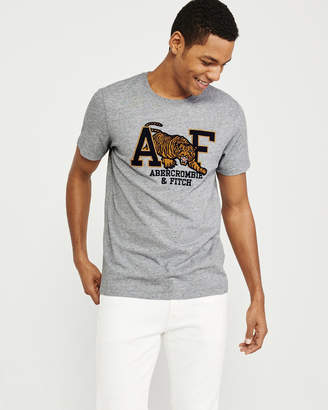 Abercrombie & Fitch Elevated Logo Tee