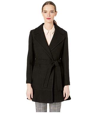 Kate Spade Belted Wool Twill Coat