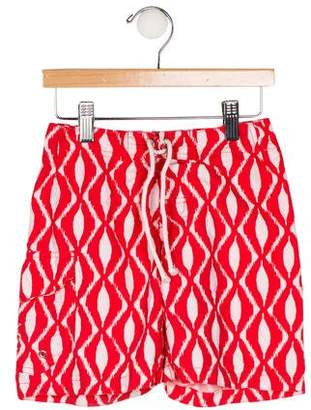 Oscar de la Renta Boys' Printed Swim Trunks