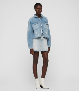 AllSaints Mae Denim Skirt
